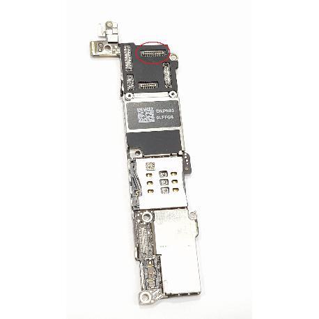 PLACA BASE ORIGINAL PARA IPHONE 5S 16GB CON BOTON HOME NEGRO - RECUPERADA - CON TARA
