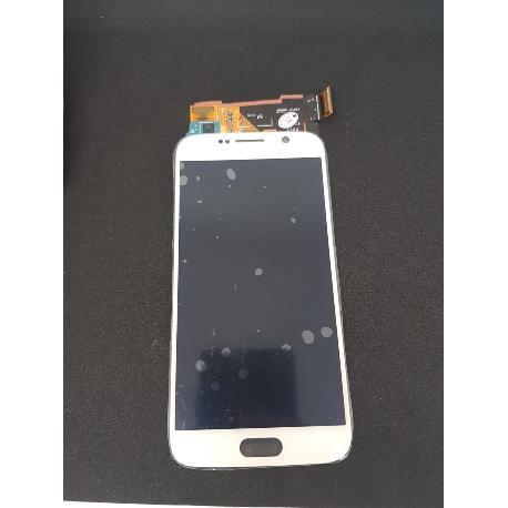 PANTALLA LCD DISPLAY + TACTIL ORIGINAL PARA SAMSUNG GALAXY S6 SM-G920F BLANCA - USADA