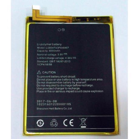 BATERIA I3834T43P6H8867 UMI SUPER UMI MAX 4000MAH