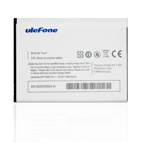 BATERIA ORIGINAL ULEFONE BE TOUCH 1 BE TOUCH 2 BE TOUCH 3 3050 MAH