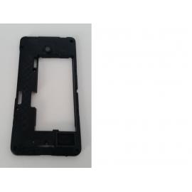Carcasa Intermedia Original Nokia Lumkia 630 Negra - Recuperada