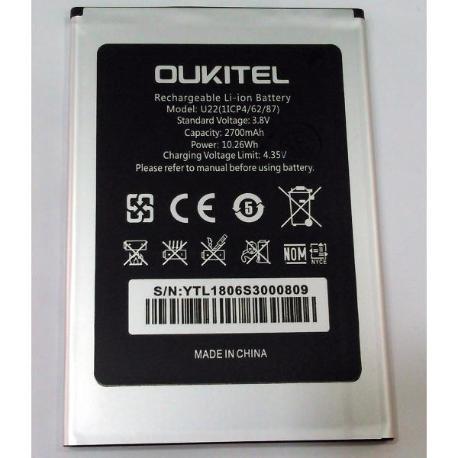 Bateria Original OUKITEL U22 2700 MAH