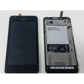 Pantalla Lcd + Tactil con Marco Original ORANGE DAYTONA  HUAWEI ASCEND G510