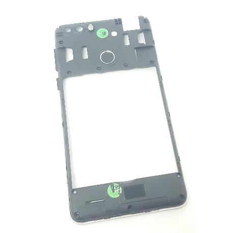 CARCASA INTERMEDIA ORIGINAL PARA LEAGOO KIICAA POWER - RECUPERADA