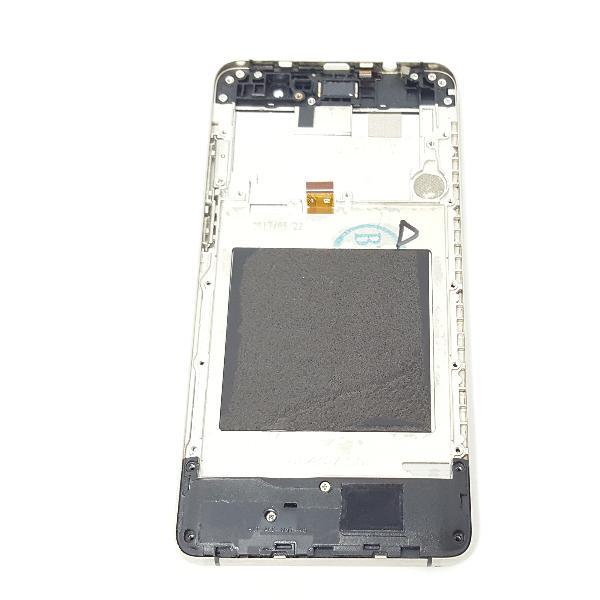 PANTALLA LCD DISPLAY + TACTIL CON MARCO ORIGINAL PARA DOOGEE X10  NEGRA - RECUPERADA