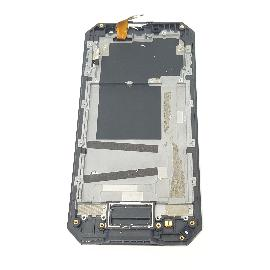 PANTALLA LCD DISPLAY + TACTIL CON MARCO ORIGINAL PARA NOMU S30 NEGRA - RECUPERADA