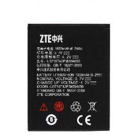 BATERIA ZTE LI3716T42P3H594650 1650MAH PARA ZTE WARP SEQUENT & ZTE GRAND X V970
