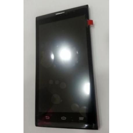 REPUESTO PANTALLA TACTIL + LCD DISPLAY CON MARCO PARA ZTE BLADE L2 - NEGRO