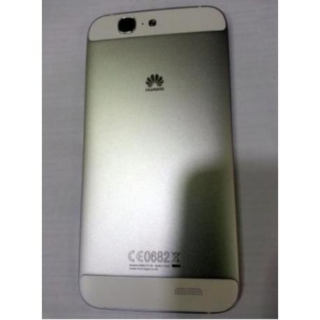 4289bc508e5 Carcasa Tapa Trasera de Bateria para Huawei Ascend G7 - Plata