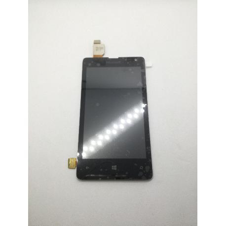 REPUESTO PANTALLA TACTIL + LCD PARA NOKIA LUMIA 435 - NEGRO