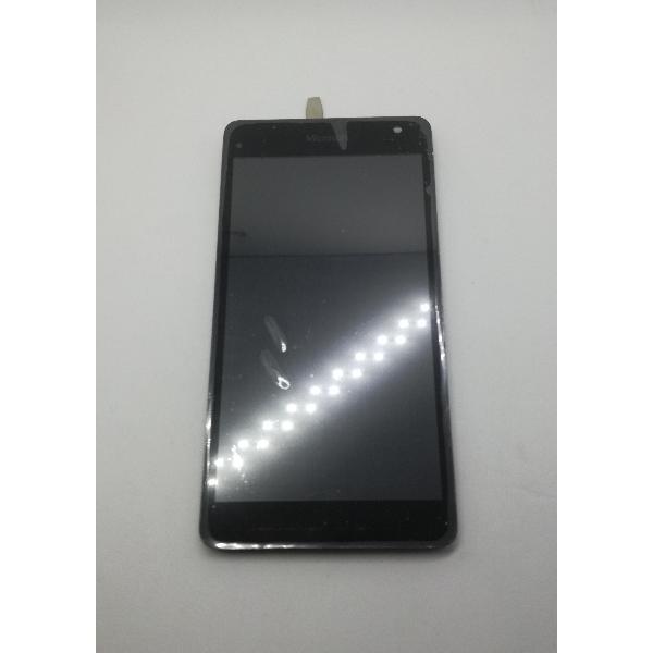 PANTALLA LCD DISPLAY + TACTIL CON MARCO ORIGINAL PARA MICROSOFT LUMIA 535  VERSION EN FLEX CT2S - RECUPERADA