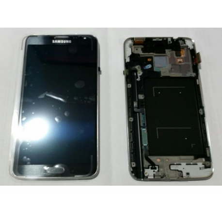 Pantalla Lcd + Tactil con Marco Original Samsung Galaxy note 3 Neo N7505 Negra