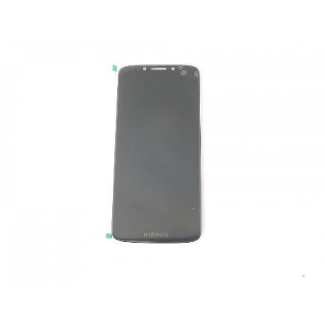 PANTALLA LCD Y TACTIL PARA MOTO G6 PLAY - NEGRA