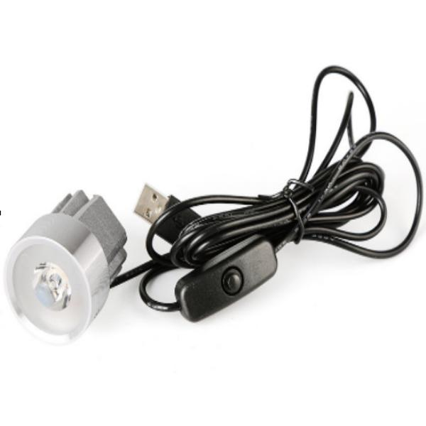 LÁMPARA DE LED  - CONEXIÓN POR USB