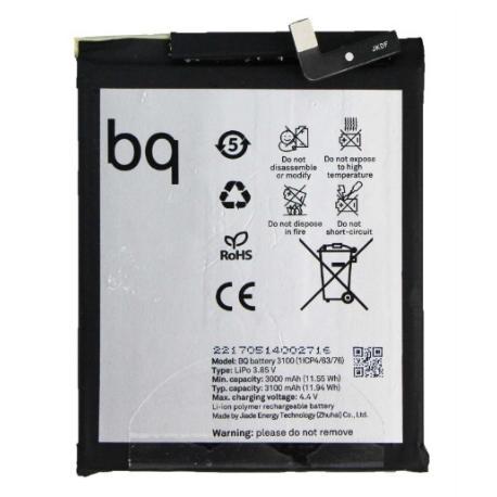 BATERIA 3100 PARA BQ AQUARIS X , X PRO 3100 MAH - REMANUFACTURADA