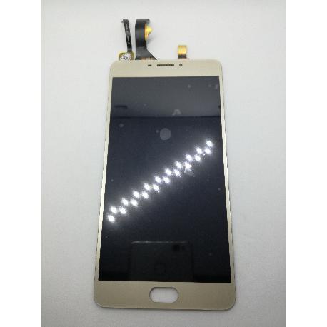PANTALLA LCD DISPLAY + TACTIL PARA MEIZU M3 MAX - ORO