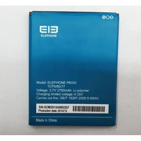 BATERIA ORIGINAL ELEPHONE P6000