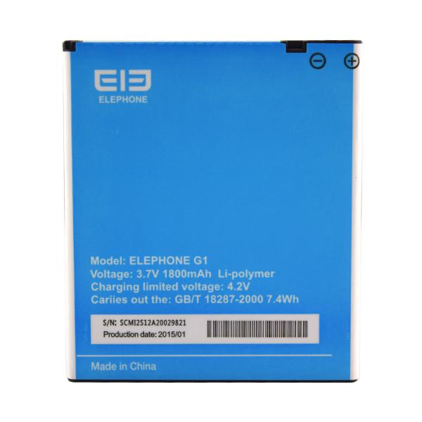 BATERIA PARA ELEPHONE G1 1800MAH