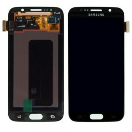 PANTALLA LCD DISPLAY + TACTIL ORIGINAL PARA SAMSUNG GALAXY S6 SM-G920F NEGRA - USADA