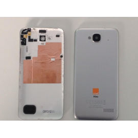 Tapa Trasera Gris Alcatel One Touch Idol Mini 6012X 6012A 6012W Orange Hiro de desmontaje Remanufacturada