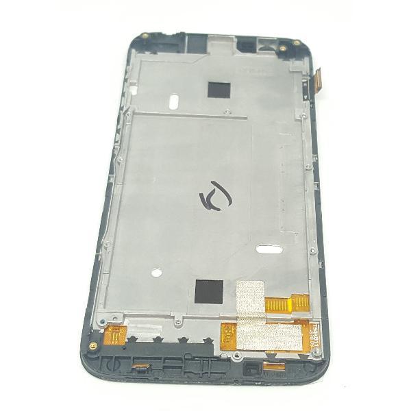 PANTALLA LCD DISPLAY + TACTIL CON MARCO ORIGINAL PARA VERNEE THOR NEGRA - RECUPERADA