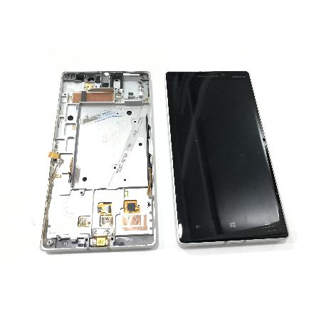 PANTALLA LCD + TACTIL CON MARCO ORIGINAL PARA NOKIA LUMIA 930 NEGRA - RECUPERADA