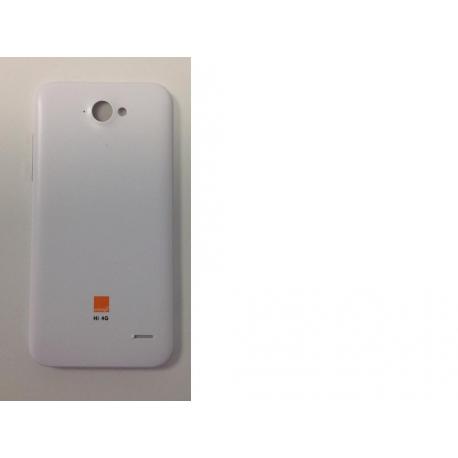 Tapa Trasera Carcasa Blanca Zte Blade Apex 2 Orange Hi 4G - Recuperada