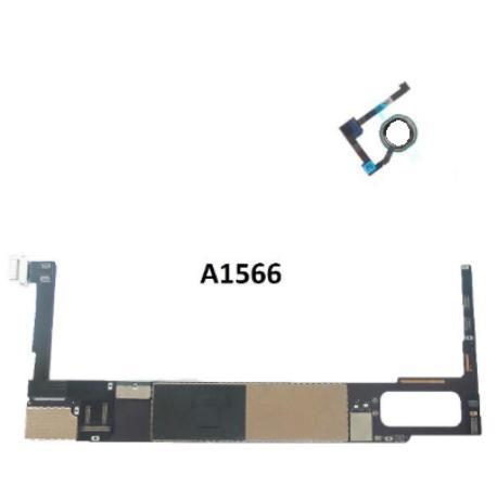 PLACA BASE ORIGINAL MOTHERBOARD IPAD AIR 2 32GB WIFI A1566 CON BOTON BLANCO  - RECUPERADA