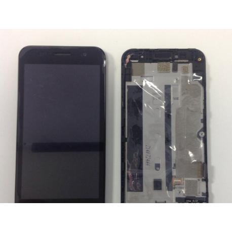 Pantalla Tactil + LCD con Marco Original ZTE BLADE APEX 2 ORANGE HI 4G - Recuperada