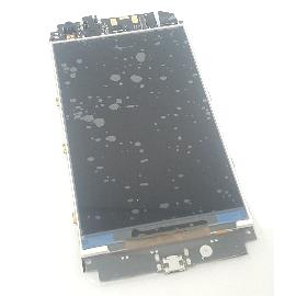 PLACA BASE + LCD DISPLAY ORIGINAL PARA ENEGY PHONE NEO LITE - RECUPERADA