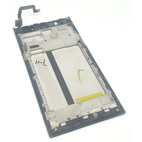 PANTALLA LCD DISPLAY + TACTIL CON MARCO ORIGINAL PARA DPA HELIO 01 - RECUPERADA