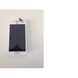 Pantalla Tactil + LCD con Marco LG Optimus F6 D505 Blanca