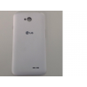 Carcasa Tapa trasera para LG Optimus L70 D320 D325 L65 D280N - Blanca