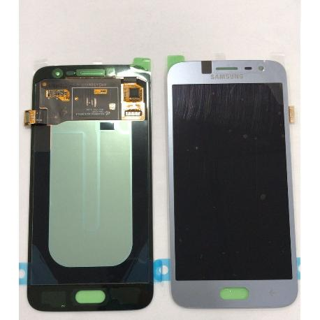 PANTALLA LCD DISPLAY + TACTIL ORIGINAL SAMSUNG SM-J250 GALAXY J2 PRO 2018 - PLATA