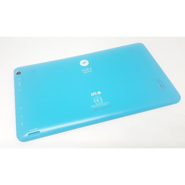 TAPA TRASERA ORIGINAL SPC GLEE 9 QUAD CORE (VERSION 2.1) AZUL - RECUPERADA