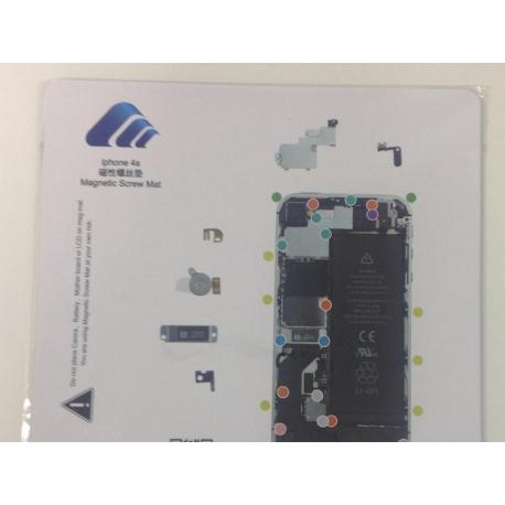 Alfombra Manta Magnetica para Reparaciones iphone 4s