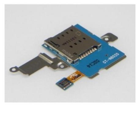 FLEX LECTOR DE TARJETA SIM PARA SAMSUNG GT-N8020 GALAXY NOTE 10.1 LTE