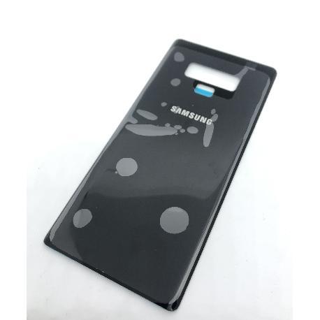 TAPA TRASERA COMPATIBLE PARA SAMSUNG GALAXY NOTE 9 N960F - NEGRO