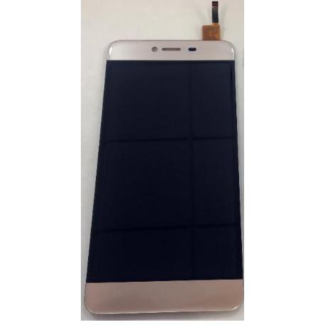 PANTALLA LCD DISPLAY Y TACTIL PARA WIKO LENNY 3 MAX - ORO