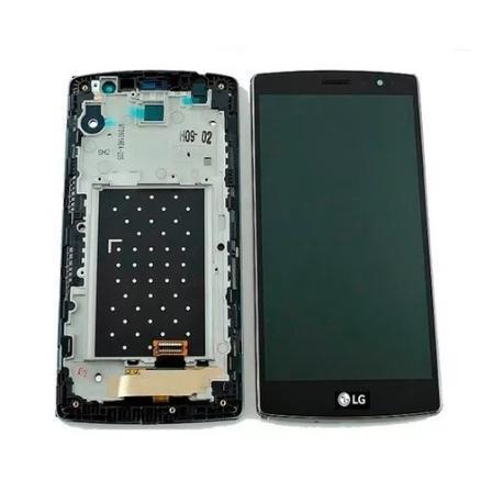PANTALLA LCD + TACTIL CON MARCO ORIGINAL LG G4S H735 NEGRA - RECUPERADA