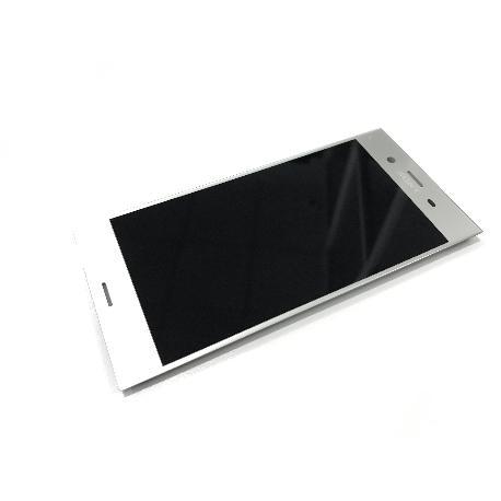 PANTALLA LCD + TACTIL ORIGINAL PARA SONY XPERIA XZ1 G8341, G8342 - PLATA - USADA