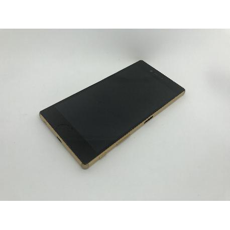 PANTALLA LCD + TACTIL + MARCO DORADO ORIGINAL SONY XPERIA Z5 PREMIUM E6853, E6883 - USADA