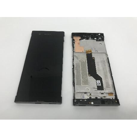 PANTALLA LCD + TACTIL + MARCO NEGRO ORIGINAL SONY XPERIA XA1 - USADA