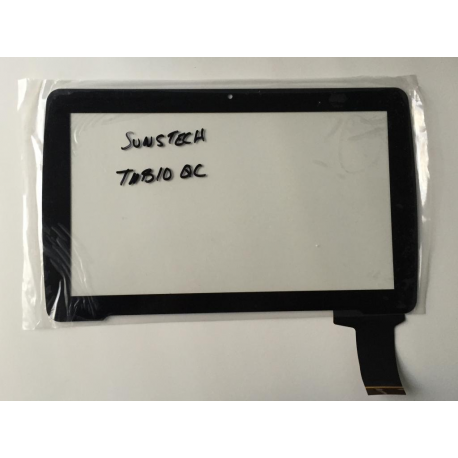 Pantalla Tactil Universal Tablet china 10 Pulgadas Sunstech TAB10QC Negra