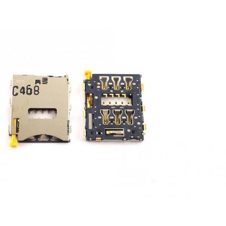 Modulo Lector SIM Original para Sony Xperia Z3, Z3 Compact , Z5 Compact, Tablet Z3 Compact