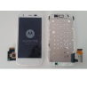 Pantalla lcd + tactil con Marco Original Motorola Moto G Xt1032 Xt1033 Xt1039 4G Blanca