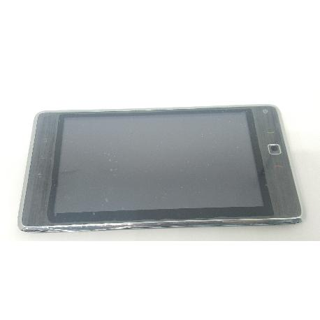 PANTALLA LCD DISPLAY + TACTIL CON MARCO ORIGINAL PARA HUAWEI S7-105 ORANGE - RECUPERADA