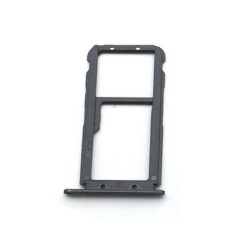 Bandeja Tarjeta SIM y SD para Huawei Mate 20 Lite - Negra