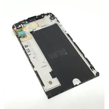 PANTALLA LCD DISPLAY + TACTIL CON MARCO PARA LG H850 G5  NEGRA - RECUPERADA