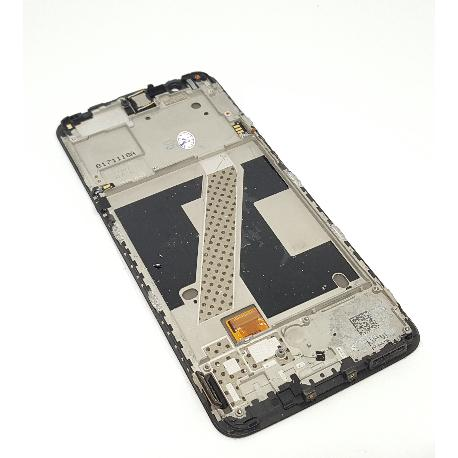 Pantalla LCD Display + Tactil Con Marco para Oneplus 5T - Negra